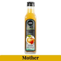 Urban Platter Organic Apple Cider Vinegar with Mother, 250ml / 8.4 fl.oz [Raw, Unfiltered, Unpasteurised]