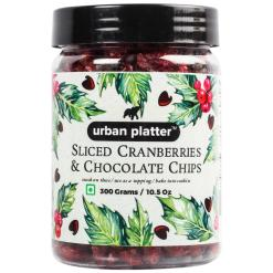 Urban Platter Sliced Cranberries & Chocolate Chips, 300g