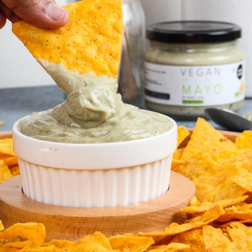 Urban Platter Vegan Mint Mayo, 300g / 10.6oz [Dairy-free Mayonnaise, No Palm Oil, No Trans-fat]