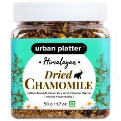 Urban Platter Himalayan Dried Chamomile Flowers, 50g / 1.7oz [Relaxing & Rejuvenating]