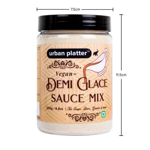 Urban Platter Vegan Demi Glace Sauce Mix, 250g / 8.8oz [For Soups, Stews & Gravies]