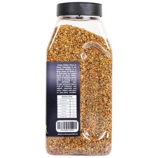 Urban Platter Pizza & Pasta Seasoning Shaker Jar, 400g / 14oz [Full of Aromatic Herbs]