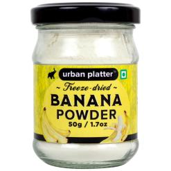 Urban Platter Freeze-Dried Banana Powder, 50g
