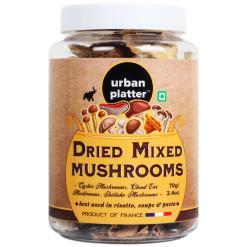 Urban Platter Dried Mixed Mushrooms, 70g / 2.4oz [Oyster, Cloud Ear & Shiitake Mushroom]