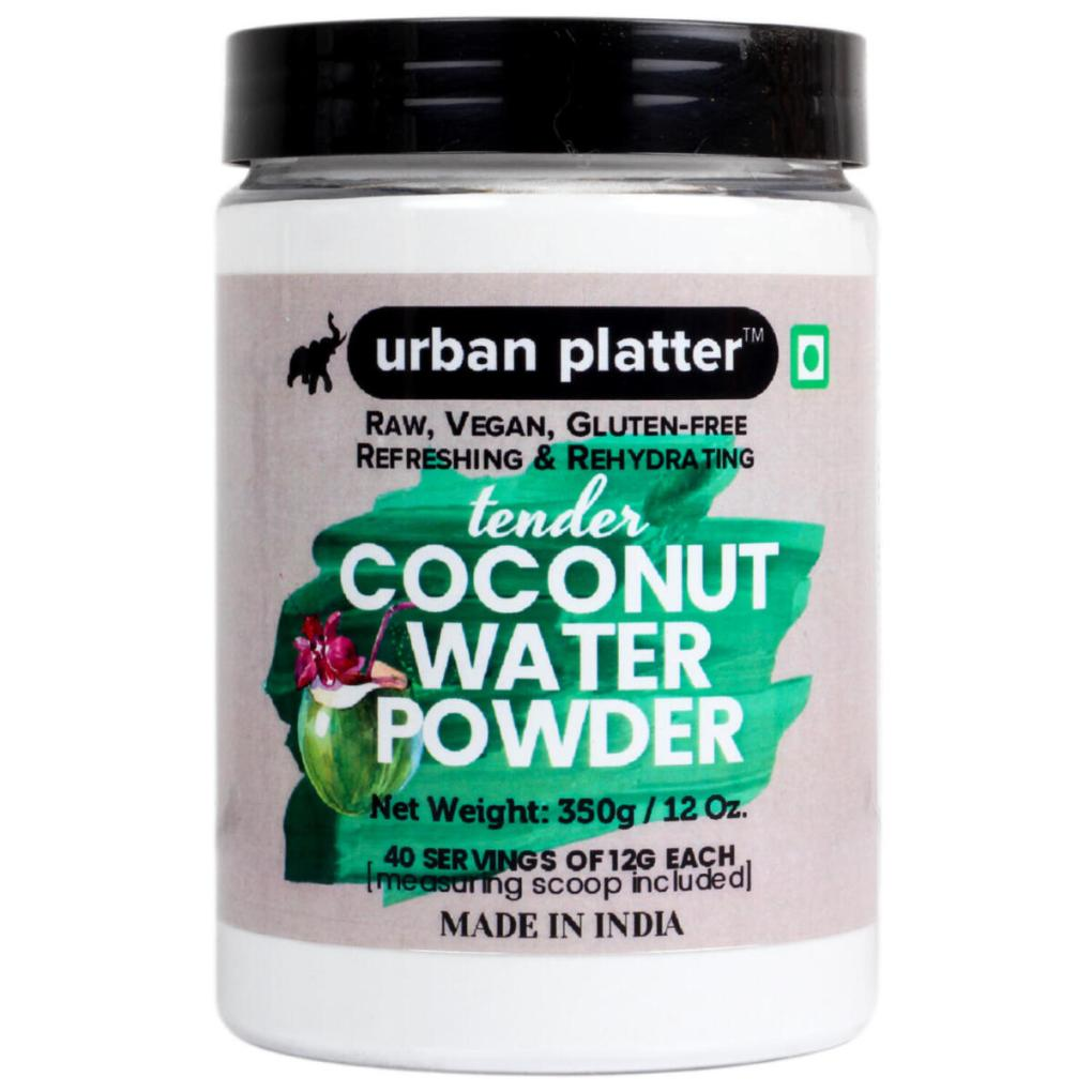 Urban Platter Tender Coconut Water Powder, 350g [Raw, Vegan, Refreshing & Re-hydrating]