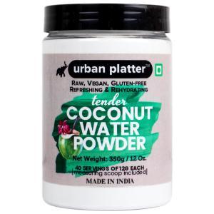 Urban Platter Tender Coconut Water Powder, 350g [Raw, Vegan, Refreshing & Re-hydrating]