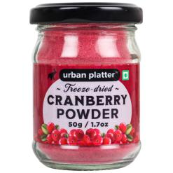 Urban Platter Freeze-Dried Cranberry Powder, 50g