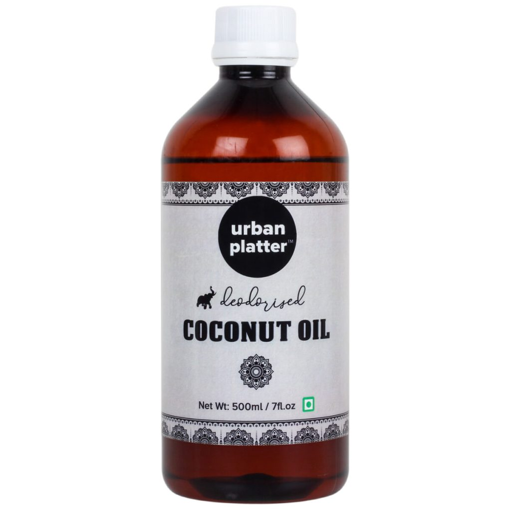 Urban Platter Deodorised Coconut Oil, 500ml