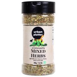 Urban Platter Mixed Herbs Shaker Jar, 35g / 1.2oz [Seasoning Mix of Oregano, Rosemary, Basil, Thyme]