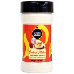 Urban Platter Carrageenan Custard Maker Vegan Gelatin Alternative (Milk Based Applications), 80g