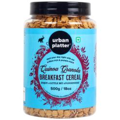 Urban Platter Quinoa Breakfast Cereal, 500g