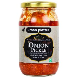 Urban Platter Onion Pickle, 350g / 12oz [Premium Quality, Delicious, Traditional Recipe]