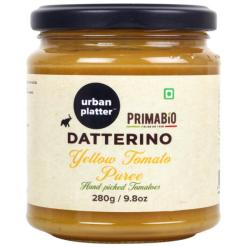 Urban Platter Datterino Yellow Tomato Puree, 280g / 9.8oz [Product of Italy]