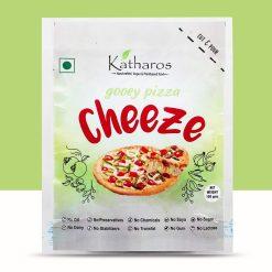 Katharos Vegan Pizza Cheeze, 100g / 3.5oz [Oil-Free, Gooey, Preservative Free Mozzarella Cheese]