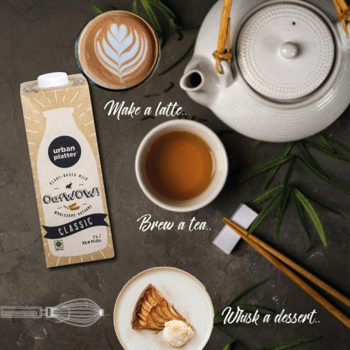 Urban Platter OatWOW Classic Oat Milk, 1 Litre