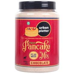 Urban Platter Gluten-free Vegan Chocolate Pancake Mix, 650g / 23oz [Just Add Water]