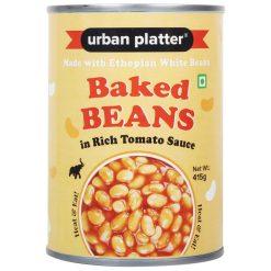 Urban Platter Heat & Eat Ethiopian Baked Beans in Tomato Sauce, 415g