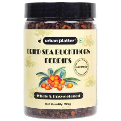 Urban Platter Whole & Unsweetened Dried Sea Buckthorns Berries, 200g