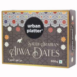 Urban Platter Saudi Arabian Ajwa Dates, 500g