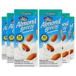 Blue Diamond Almond Breeze Original Almond Milk, 180ml [Pack of 6, Vegan]