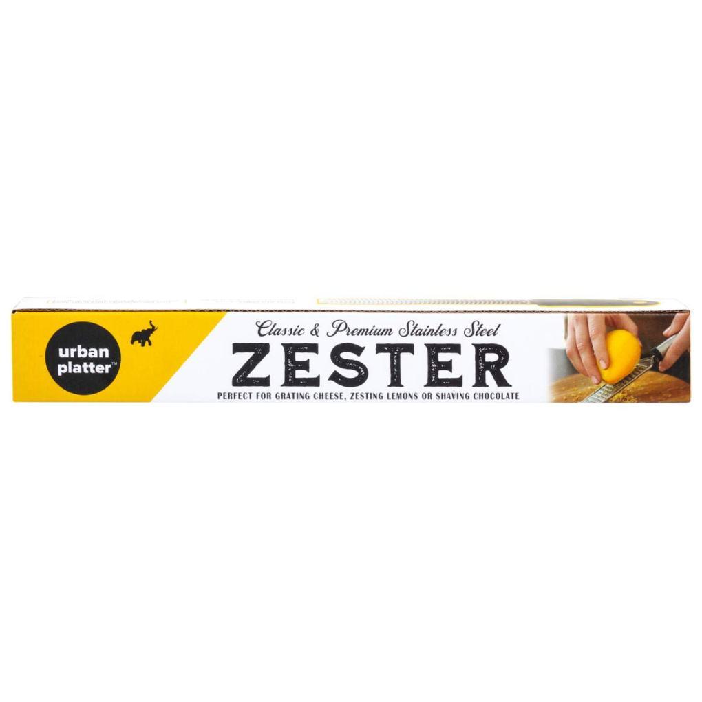 Urban Platter Premium Food Grade Stainless Steel Zester [Grater, Perfect for Grating Cheese, Zesting Lemons or Shaving Chocolate]