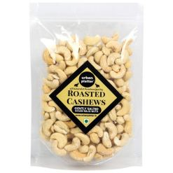 Urban Platter Roasted Salted Bold Cashew Nuts, 1Kg / 35.2oz [Grade-W240]