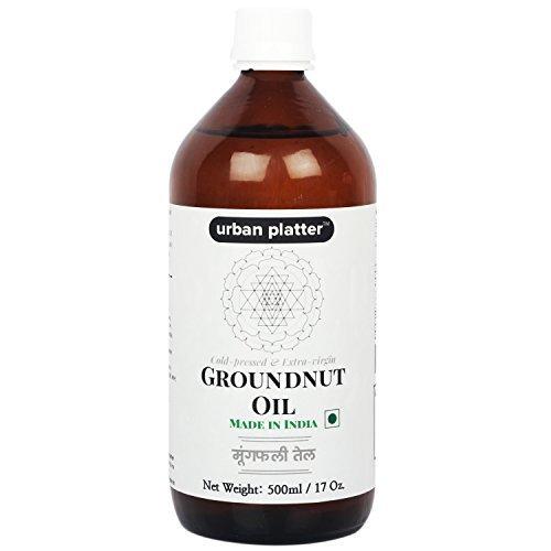 Urban Platter Cold-pressed & Extra-Virgin Groundnut Oil, 500ml [Peanut Oil]