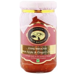 Kotgarh Fruit Bageecha Ethnic Himachal Green Apple and Ginger Chutney, 225g
