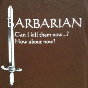 Barbarian [Closeup]