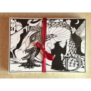 Dragon Greeting Card Set
