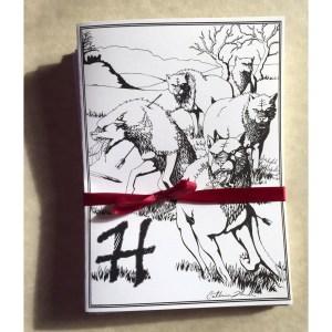 Hell Hound Greeting Card Set