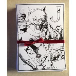 Jackalwere Greeting Card Set