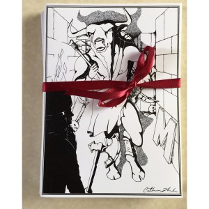 Minotaur Greeting Card Set
