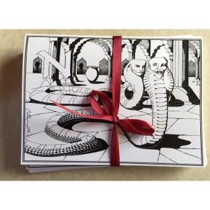 Nagas Greeting Card Set