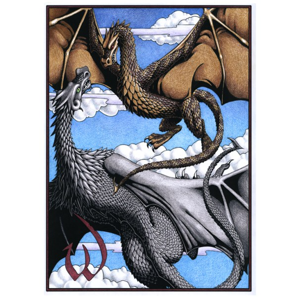 Colored Wyvern