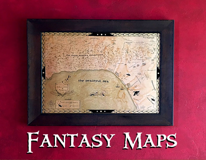 Maps in LOTR style