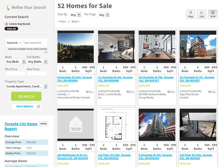 Financial District Condos For Sale