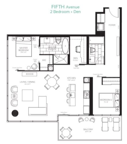 488 University Ave - Fifth Avenue Floorplan - Call Yossi Kaplan