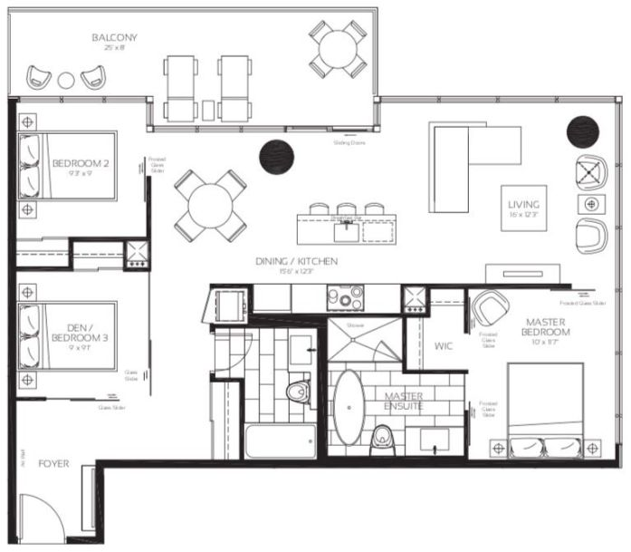 488 University Ave - Michigan Avenue Floorplan - Call Yossi Kaplan