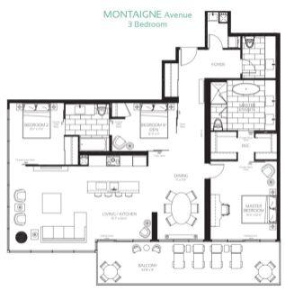 488 University Ave - Montagne Avenue Floorplan - Call Yossi Kaplan