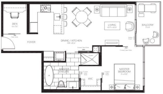 488 University Ave - Princess Grace Floorplan - Call Yossi Kaplan