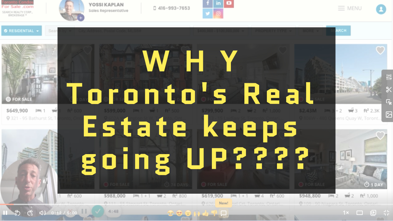 [VIDEO] Why Does the Price of Toronto's Condos Keep Going Up?