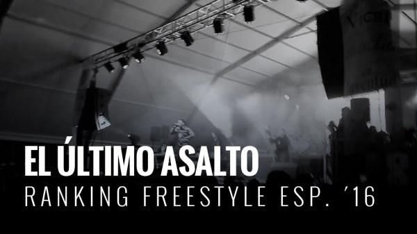 Esta semana se decide el campeón del Ranking Freestyle España 2016 en la final de Gold Battle