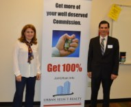 Our Marketing Director Vanesa Diaz -100% Commission - Join Urban Select Realty