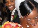 My wedding day -- see how shiny and sleek?