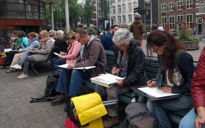 Sketch Weekend Amsterdam in foto's