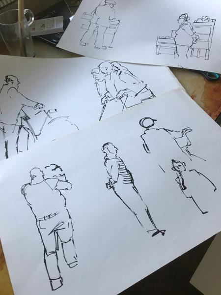 Urban Sketching in tijden van corona: Desiree Dirix