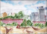B Line Michaud 6-Vue du canal lachine