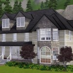 Building A Family Suburban House In Sims 3 Urban Splatter