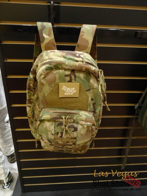 Blue Force Gear Jedburgh Pack Multicam Shot Show 2016